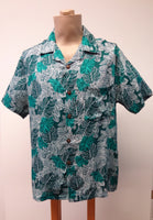 Men's Aloha Shirt - Monstera - Green