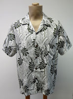 Men's Aloha Shirt - Tribal Vibe - Olive Green