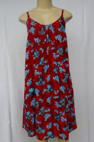 Ladies Leilani Dress - Waikapu - Red