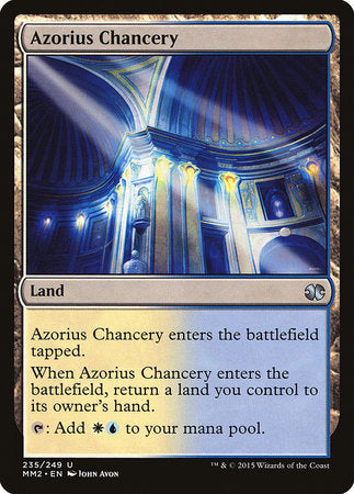 Azorius Chancery [Modern Masters 2015] | Tabernacle Games