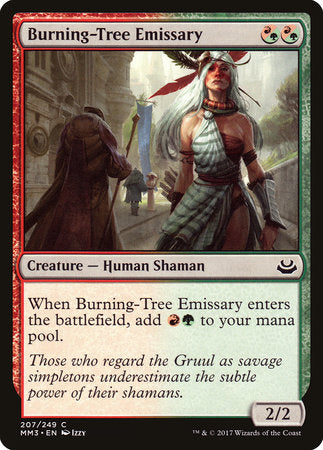 Burning-Tree Emissary [Modern Masters 2017] | Tabernacle Games