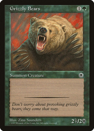 Grizzly Bears [Portal] | Tabernacle Games