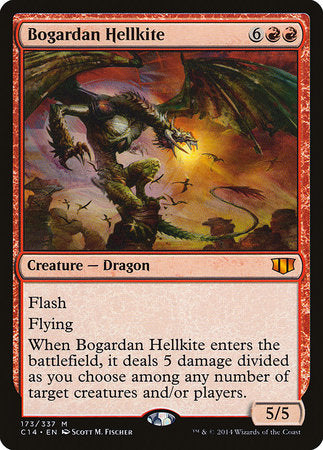 Bogardan Hellkite [Commander 2014] | Tabernacle Games