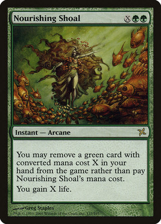 Nourishing Shoal [Betrayers of Kamigawa] | Tabernacle Games
