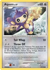 Aipom (70) [Mysterious Treasures] | Tabernacle Games