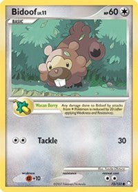 Bidoof (73) [Mysterious Treasures] | Tabernacle Games
