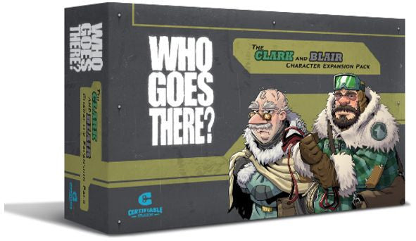 Who Goes there? Blair and Clark Character Expansion Pack | Tabernacle Games