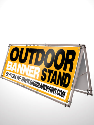 Outdoor Banner Stand