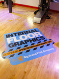 Self Adhesive Internal Floor Graphics