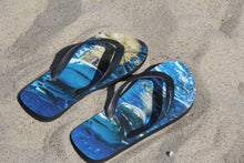 Load image into Gallery viewer, Blue Flip flops