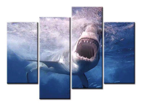 Jaws Printed Canvases