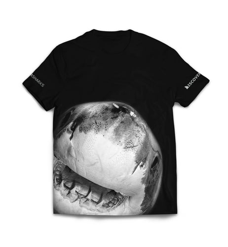 T-shirt Black Shark