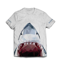 Load image into Gallery viewer, White Sharky T-shirt