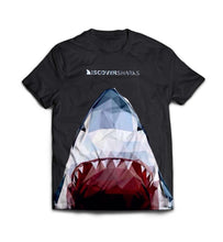Load image into Gallery viewer, Black Sharky T-shirt