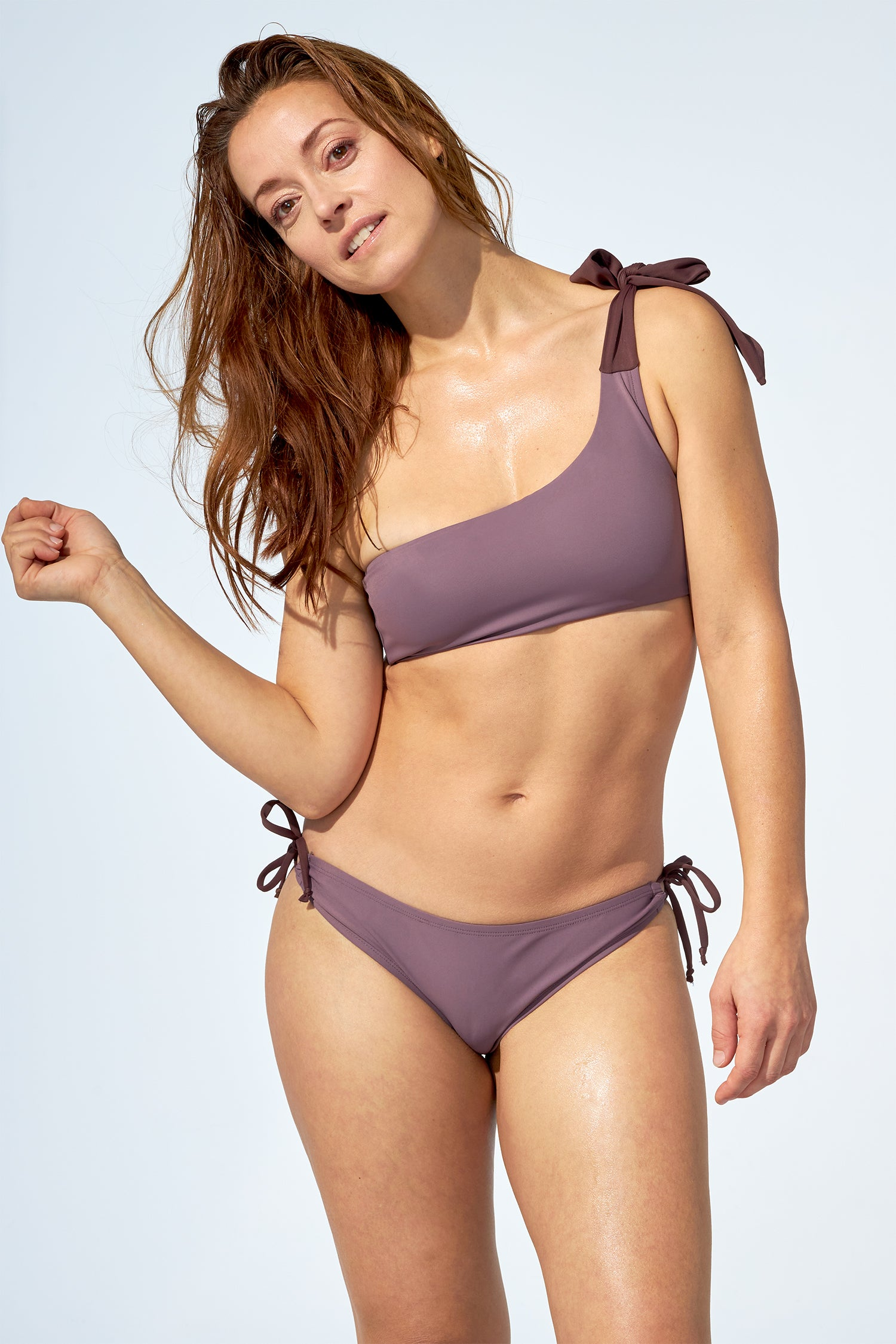 MARGOT - Bikini top in soft purple