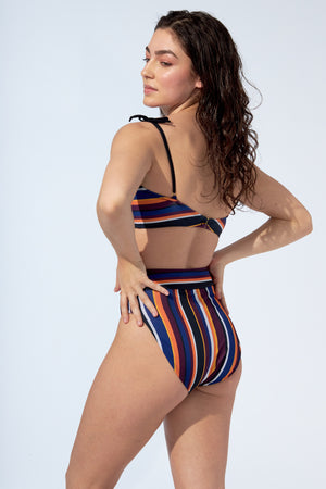 ANALIE – Bikini bottom in stripe print
