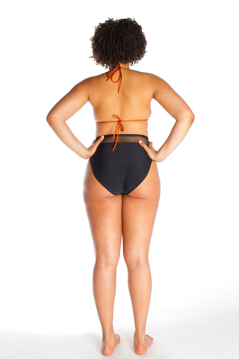 ROXANNE – Top in Orange bronze