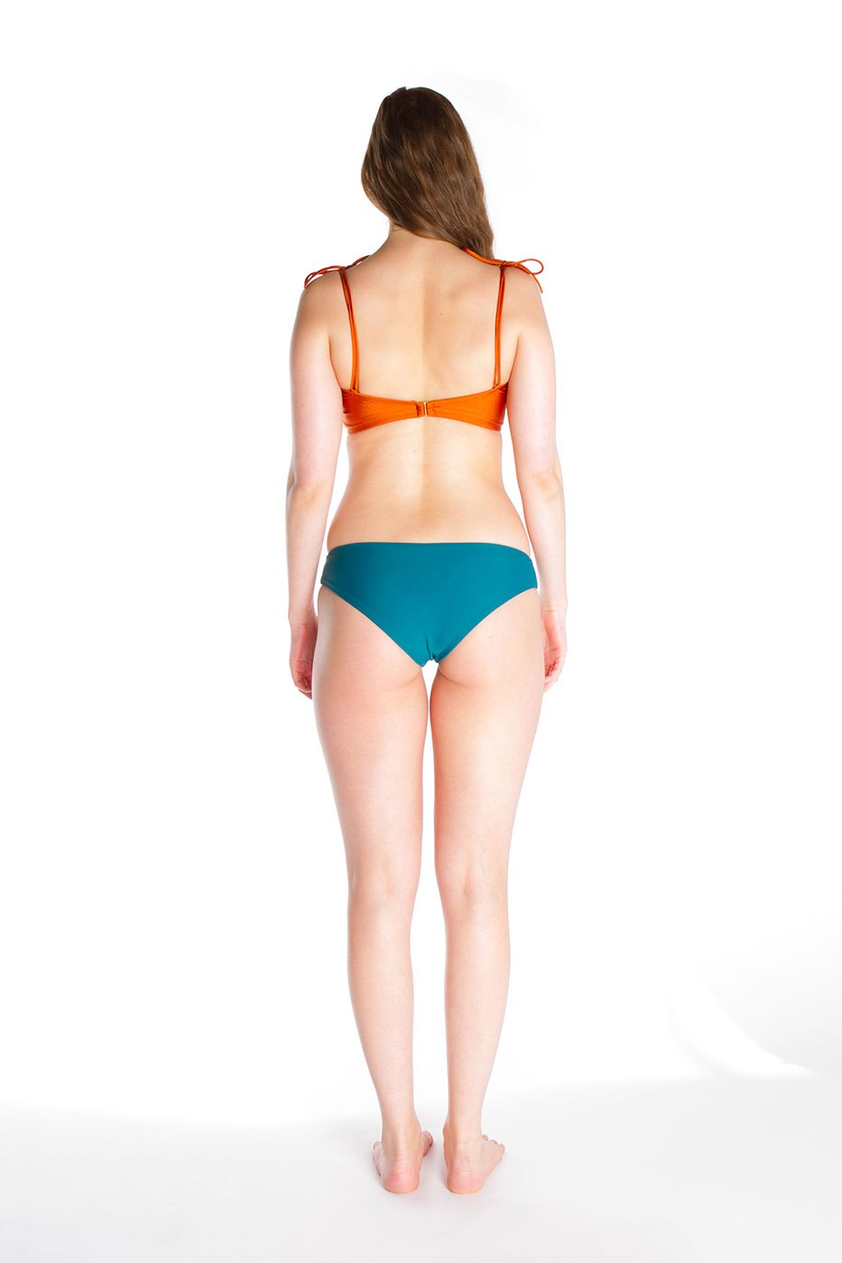 MARINA – Top in Orange bronze