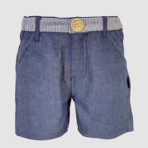 Love Henry - Boys Dress Shorts - Chambray