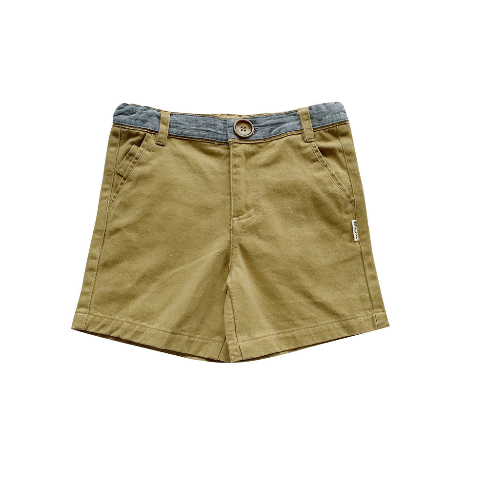 BOYS OSCAR SHORTS - TAUPE