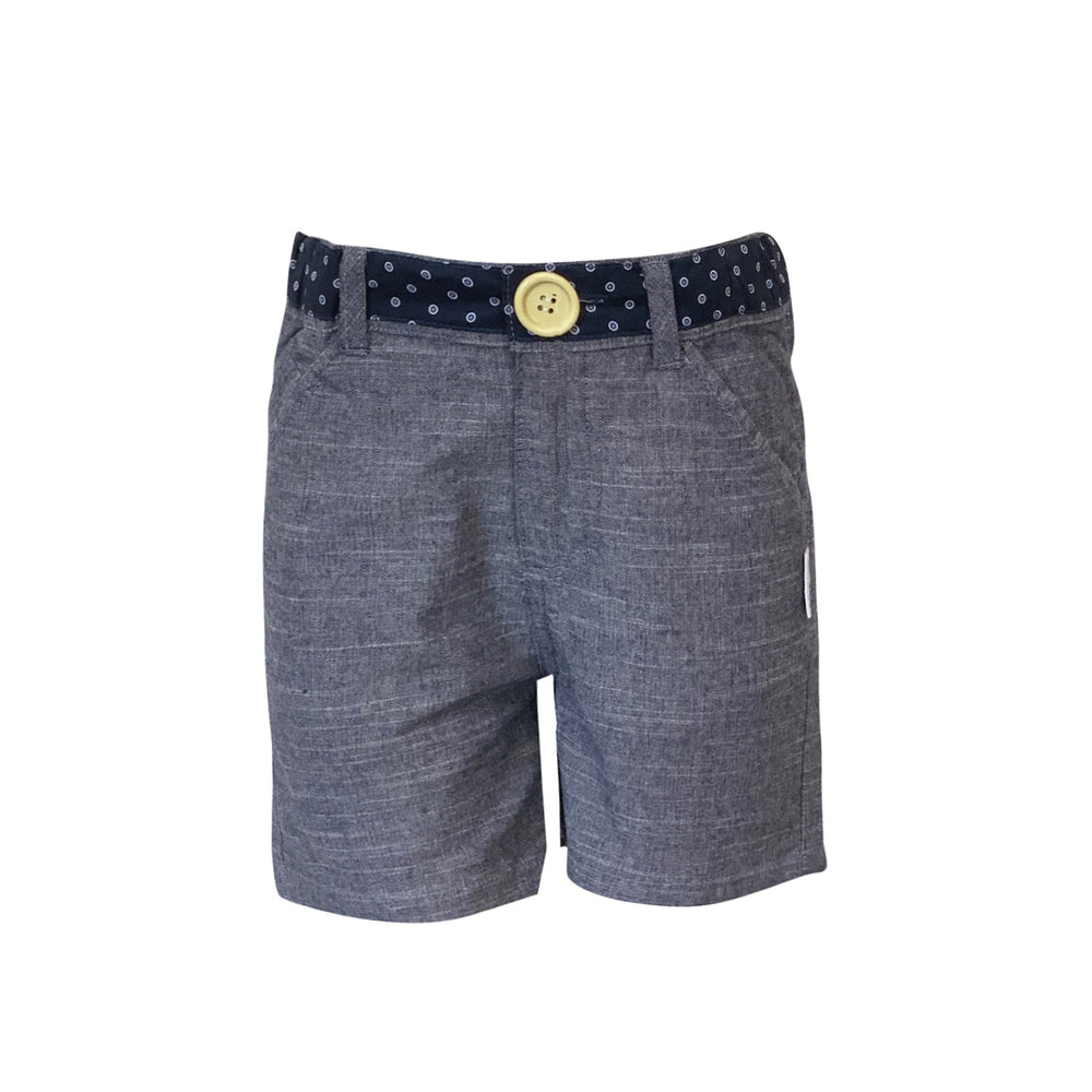 Love Henry - Boys Oscar Shorts - Charcoal