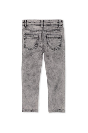 DENIM JEAN - GREY