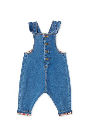 Load image into Gallery viewer, DENIM OVERALL - DENIM