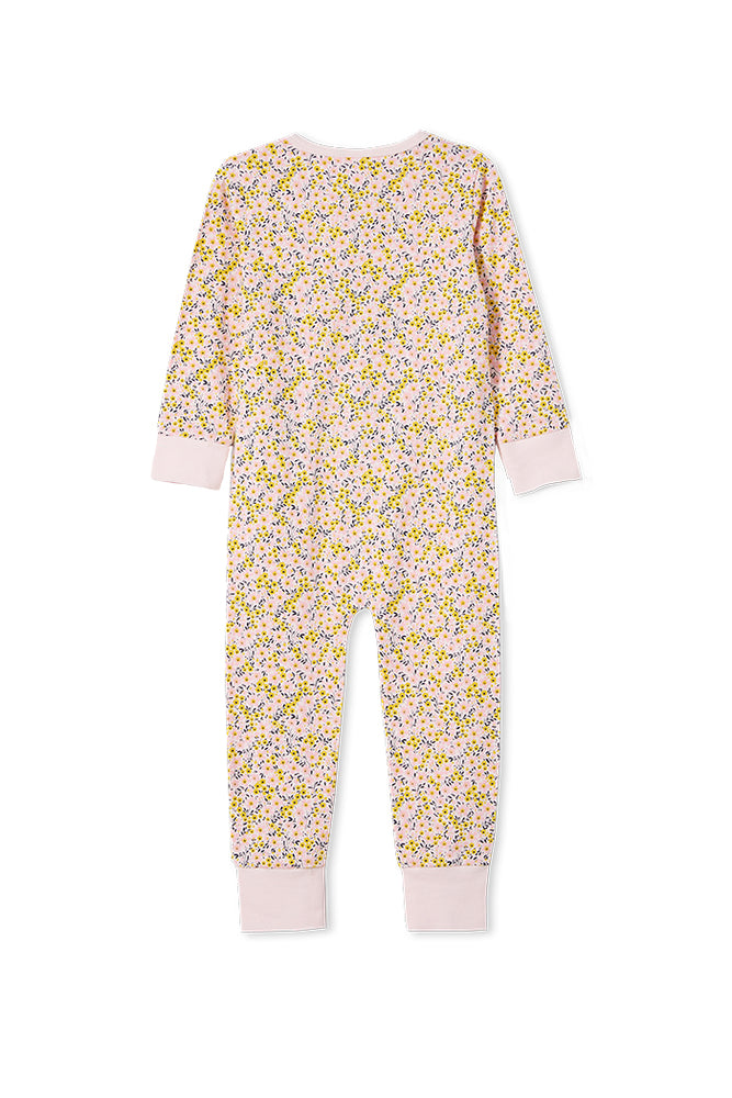 Load image into Gallery viewer, PRETTY SLEEP ROMPER - BLOSSOM PINK