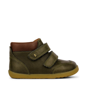 STEP UP TIMBER BOOT - OLIVE