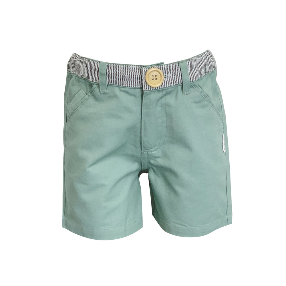 Love Henry - Boys Oscar Shorts - Green