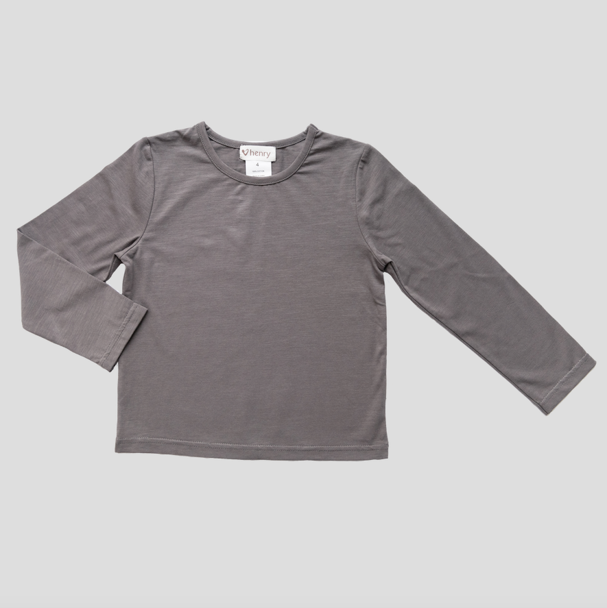 CLASSIC TOP - CHARCOAL