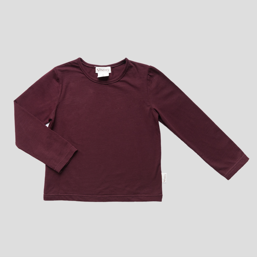CLASSIC TOP - MULBERRY