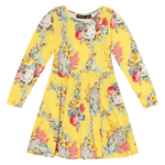 **PRESALE** FLORAL CHINTZ WAISTED DRESS