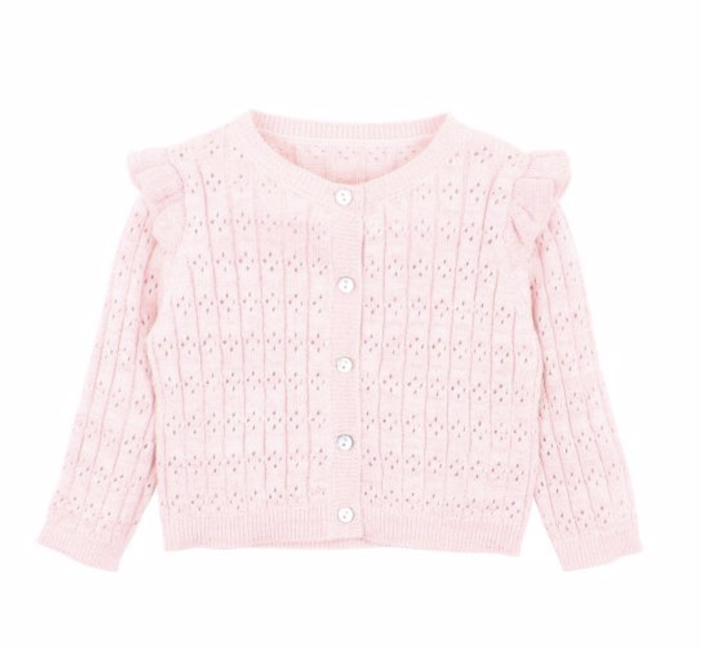 WILDFLOWER CARDIGAN - PINK
