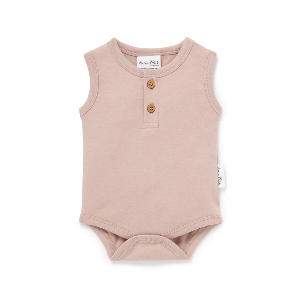 Load image into Gallery viewer, SINGLET ONESIE - FAWN