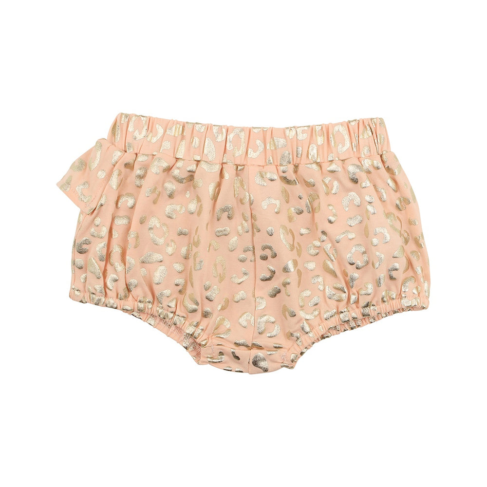 Load image into Gallery viewer, KNIT LEOPARD SHORT - SHELL PINK