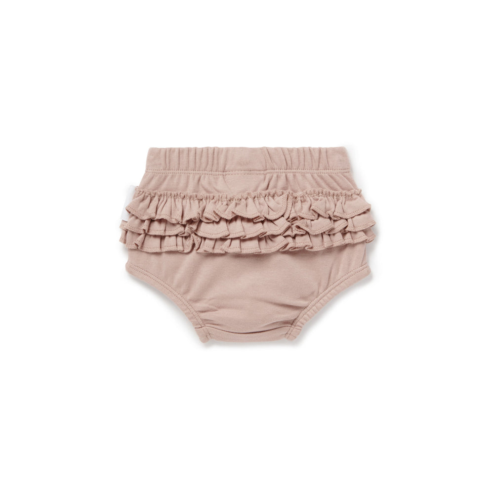Load image into Gallery viewer, RUFFLE BLOOMERS - FAWN