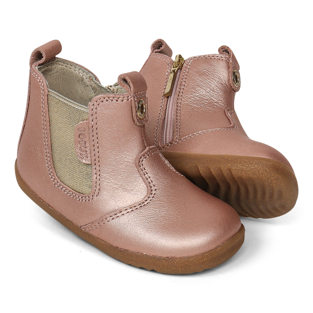 STEP UP JODHPUR BOOT - ROSE GOLD