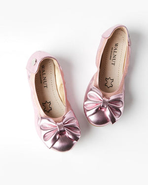 Load image into Gallery viewer, Walnut Melbourne - Catie Party Bow - Pink