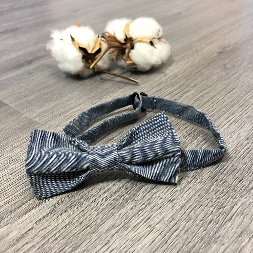 Love Henry - Boys Boys Bow Tie - Chambray