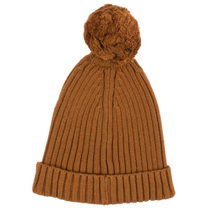 Load image into Gallery viewer, RIBBED BEANIE - MAPLE SYRUP