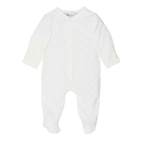 SPOT LAYETTE ROMPER - CLOUD