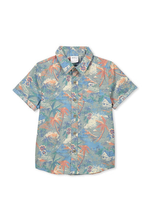 Load image into Gallery viewer, BBQ SHIRT - SAGE GREEN