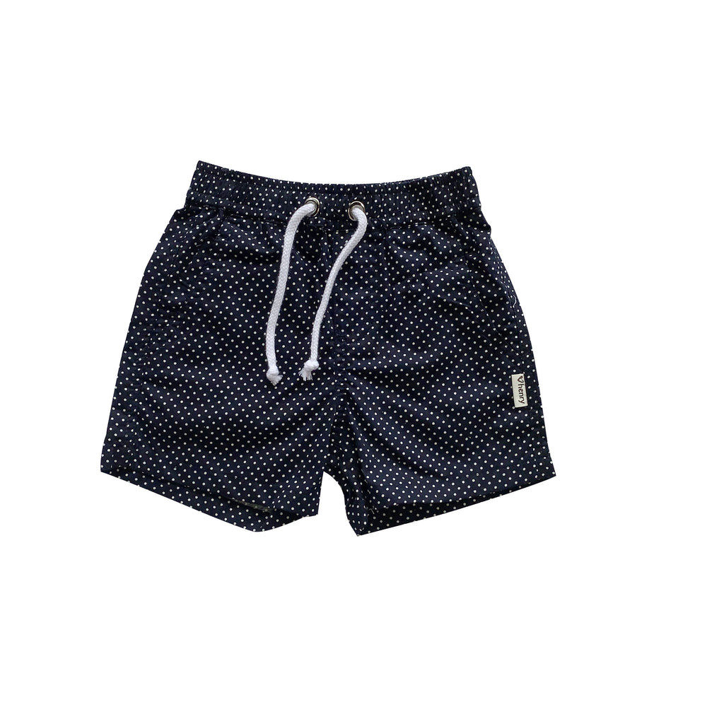 Load image into Gallery viewer, BABY BOYS SONNY SHORTS - NAVY SPOT