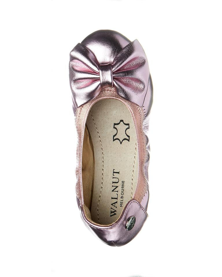 Walnut Melbourne - Catie Party Bow - Pink