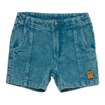 WASHED BLUE CORDUROY - SHORTS