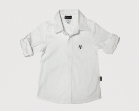 Load image into Gallery viewer, DRESS SHIRT - WHITE