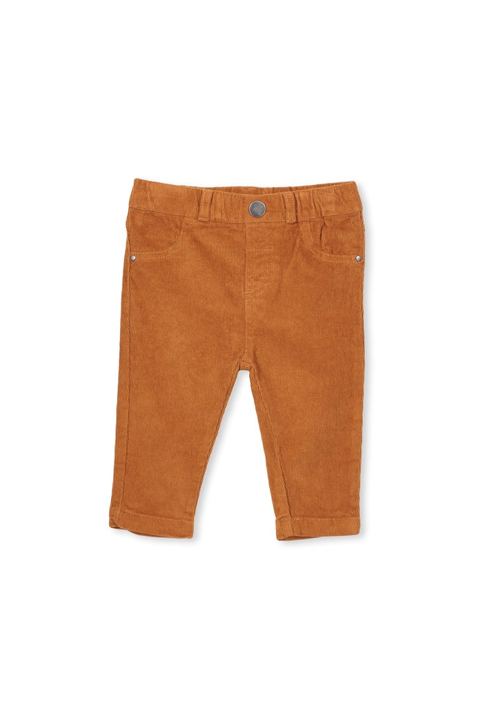 CORD PANT - TOFFEE