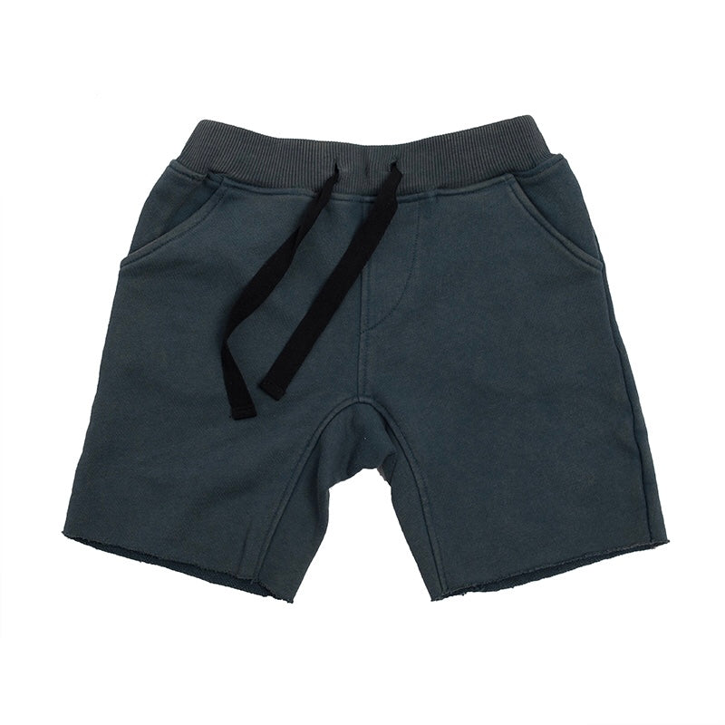 Hootkid - Skate Short - Washed Navy