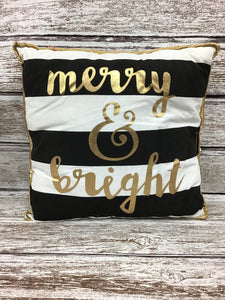 Merry & Bright Decorative Pillow